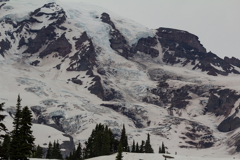 South slope of Mt. Rainier