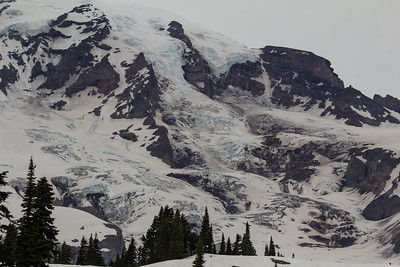 South slope of Mt. Rainier