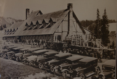 This photo from the late '20's or early '30's shows a Paradise Lodge that has changed very little on the outside. Rooms today are pricey but still have no air conditioning and no phones.