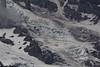 Close up of Nisqually Glacier.