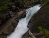 Lower Ruby Falls, near Paradise Lodge and just a few feet away from Stevens Canyon Road.