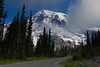A mountain this grand makes any composition in Mt. Rainier N.P. worthy of a second look.