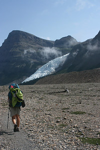 First view of Berg Glacier