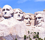 Photo of Mt Rushmore National Monument courtesy of the away.com travel website.