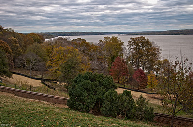 The Potomac from Mt. Vernon  Nov 2012