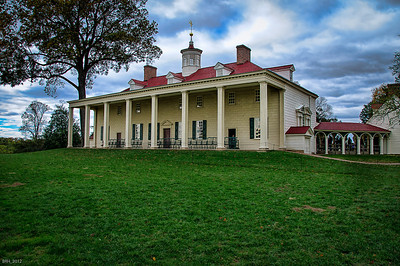 View Of Mt. Vernon from the back  Nov 2012