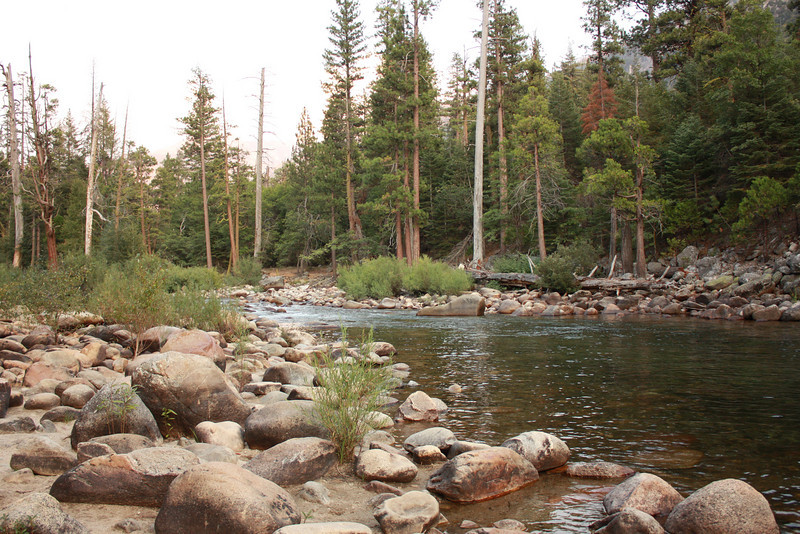South fork, Kings River