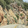 Kings Canyon, road cut