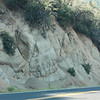 Kings Canyon, road cut - looks like rock dentures