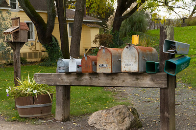 There are many choices for mail delivery at this Sonoma winery