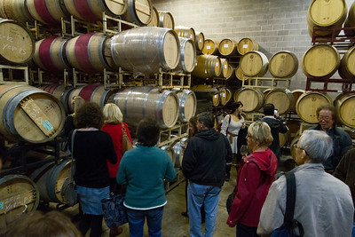 Learning about and tasting fine Napa wine