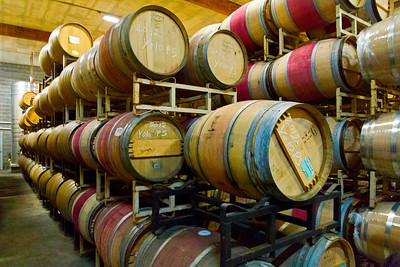 A look inside winery's cellars