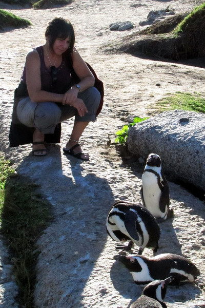 Me and penguins