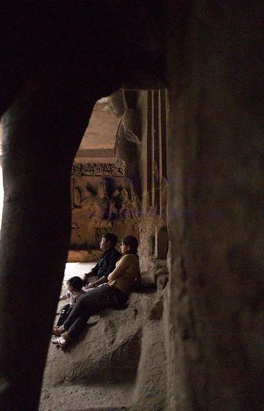Mumbai World Heritage site Elephanta cave