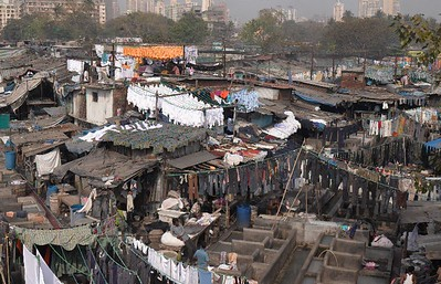 The Famous Dhobi Ghats .  Its a miracle that thousands of clothes are washed daily, and always delivered accurately to the owner.  No computers, only an ancient tracking system, only in India!