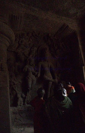 Mumbai World Heritage site Elephanta cave