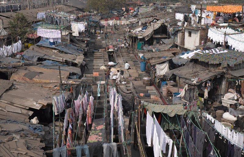Mumbai Dhobi Ghat washing