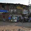 Daravi Slum street scene