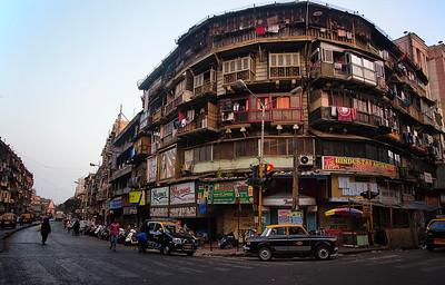 Street corner in Mumbai