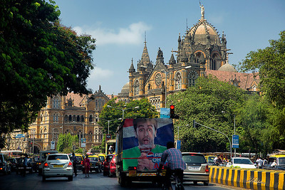 Going to Victoria Terminus