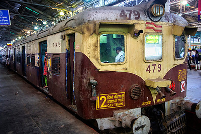 Inside the Victoria Terminus - Train