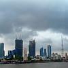 The Mumbai skyline with new construction underway.