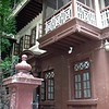 This is Mani Bhavan, the home where Gandhi grew up and studied. He lived on the 2'nd floor and the home has been converted into a Gandhi Memorial Museum.