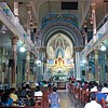 Inside of Mount Mary Church.