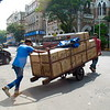 Handy transportation of goods along the streets.