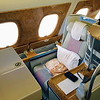 This was the perfect cabin for an international flight. LA to Dubai, then on to Mumbai.
