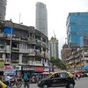 Making our way into the downtown areas of Mumbai.