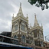 Mount Mary Church is located on top of a hill overlooking the Bandra Promenade. It is a prominent landmark of the area.