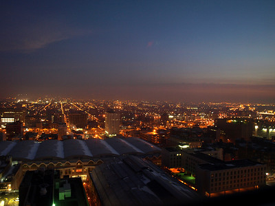 Dawn's early light, January 1, 2011.