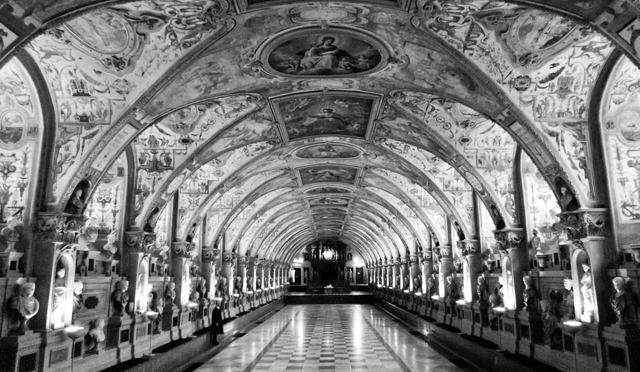 "The Renaissance Antiquarium of the Residenz - <a href=""http://en.wikipedia.org/wiki/Munich_Residenz"">http://en.wikipedia.org/wiki/Munich_Residenz</a>"