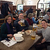 We went to the Hofbräuhaus for dinner and ended up sitting with a lovely young Irish couple.