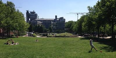 Hamburg is green and outdoor happy.