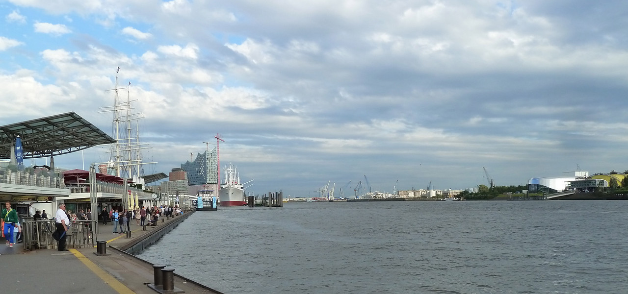 And always the river anchoring the city to its history and geography.  Good by to Hamburg and time to fly home again!.