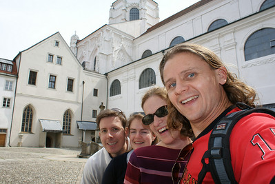 We stopped in Passau, Germany on the return to Vienna.
