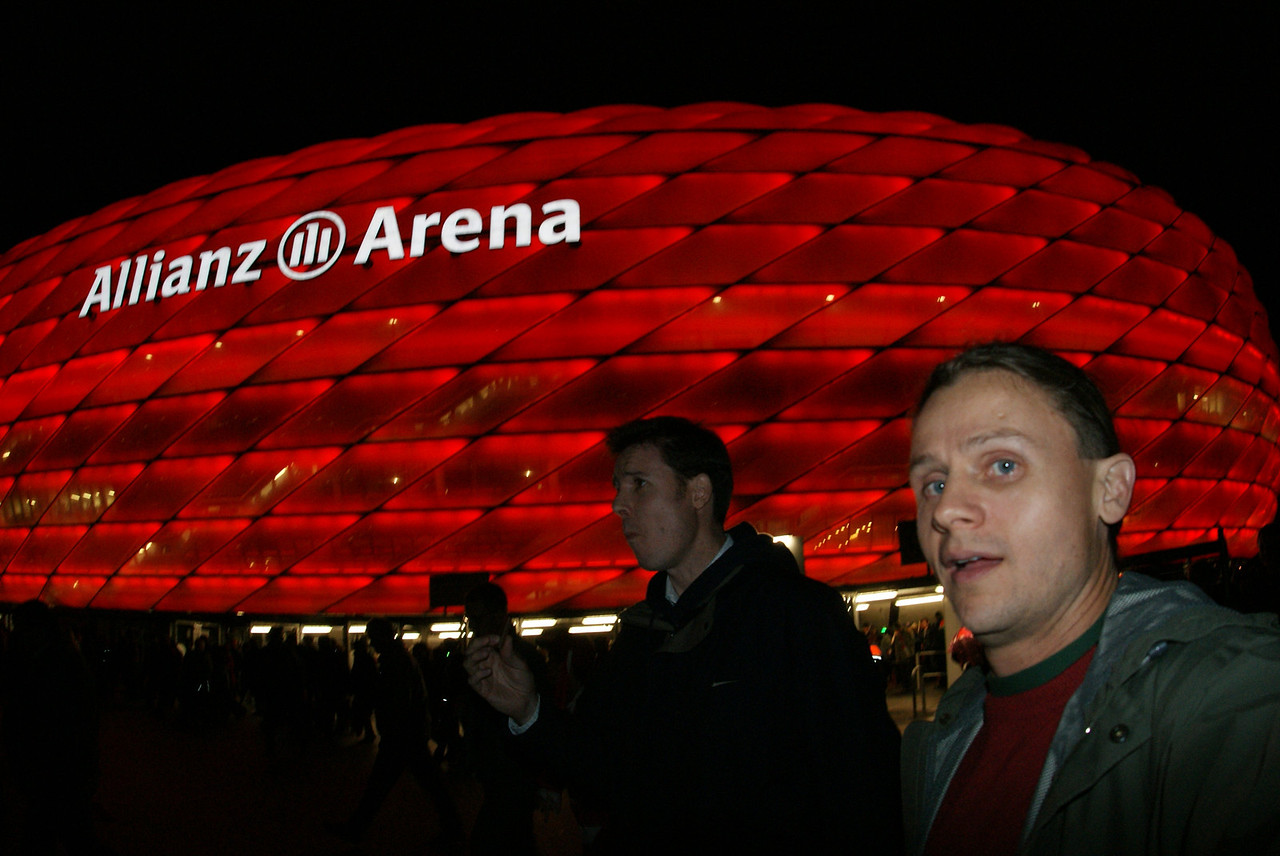 After the match.