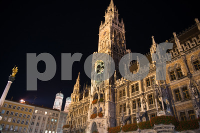Munich Germany  Marienplatz