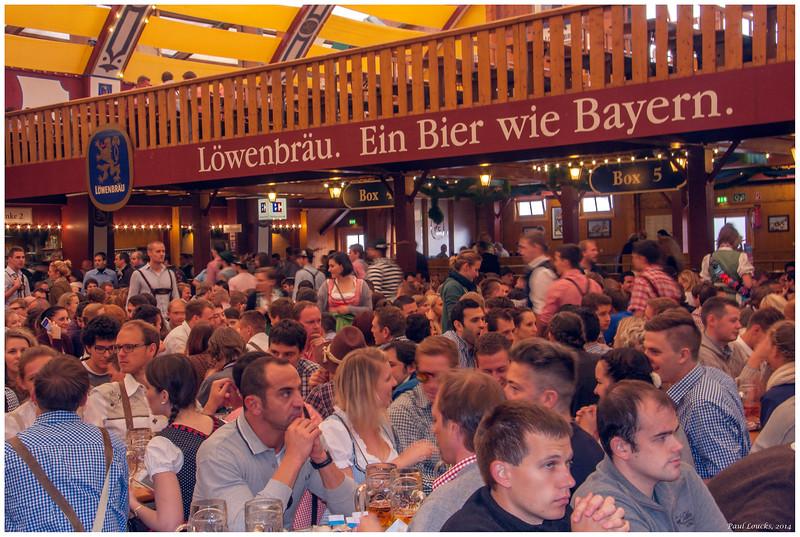 Lowenbrau Beer Garden