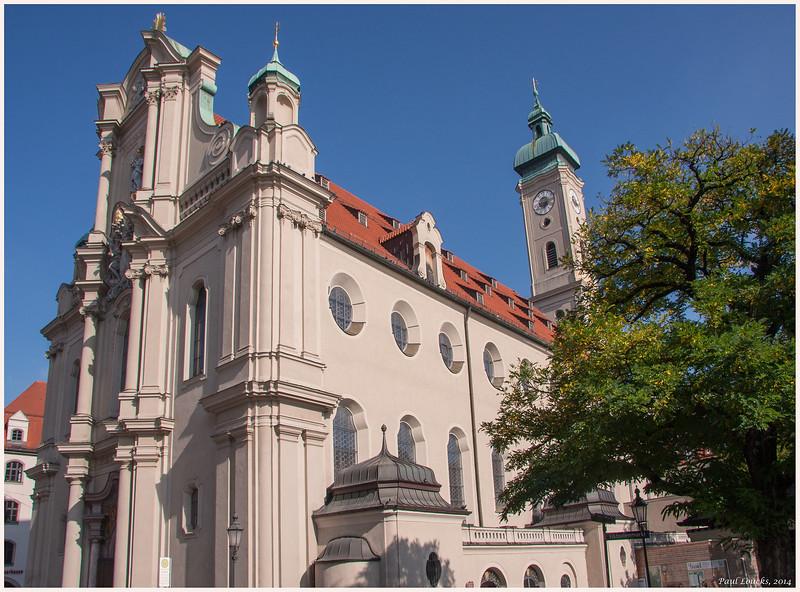 Church of the Holy Spirit in Munich