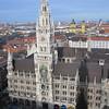 Neues Rathaus and Glockenspiel.