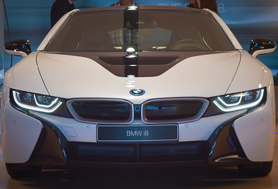 BMW Welt: i-series electric-powered sports model