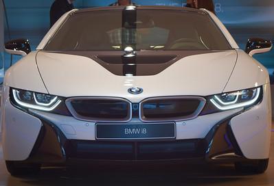 BMW Welt: i-series electric-powered sports model
