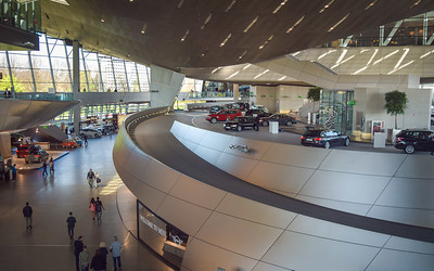 BMW Welt, Exhibition Hall