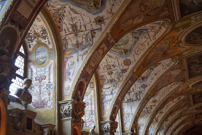 Residenz Museum: Antiquarian Hall (1568 - 1571): detail