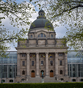 Bavarian Chancellery, 1905, with modern additions 1998