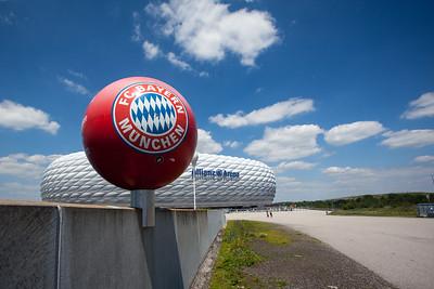 Bayern Munich at Allianz Arena, Munich Germany