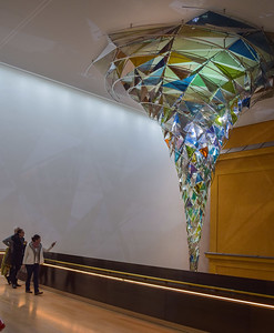 "Lenbachhaus, Lobby: ""Vortex"", Olafur Eliasson, 2012"